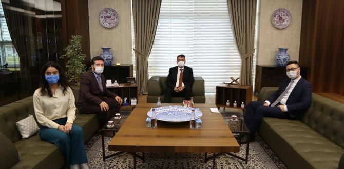 VALİ ALİ ÇELİK'E İSMAİL BAŞBUNAR'DAN ZİYARET