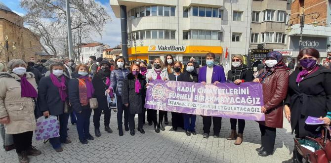 CHP KÜTAHYA KADIN KOLLARI BAŞKANI SEVİNÇ ŞENOL