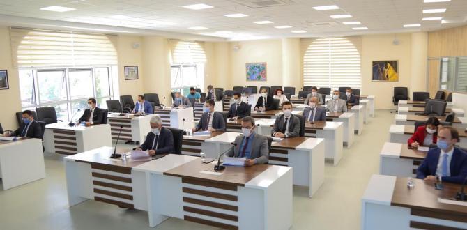 KÖYDES, Değerlendirme Toplantısı Vali Ali Çelik başkanlığında yapıldı
